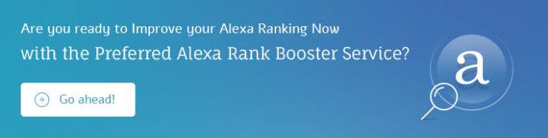 Service d'amélioration du classement Alexa
